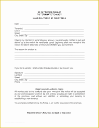 Free Eviction Template Of 30 Day Eviction Notice Template