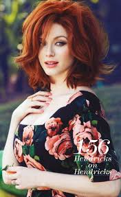 i love this hair style and color on her i wish i could go red d christina hendricks by max abadian for flare may 2016 beauty