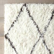 large white area rug and white rugs