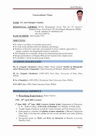 Simple Resume Format Pdf Beautiful Exelent Resume Pdf File
