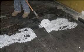 photos of old vinyl floor tiles asbestos