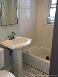 top 45 aesthetic pedestal sink installed plumbing removing