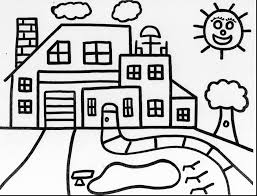 Small Picture unbelievable tree house coloring pages haunted with haunted house