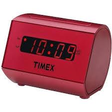 timex alarm clock large display led red radio t231 instructions timex alarm clock