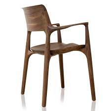 Moderner Stuhl Holz Bugholz Polster Easy By Jader