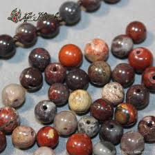 natural stone red jaspers rondelle