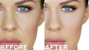 changing foundation trick for oily skin