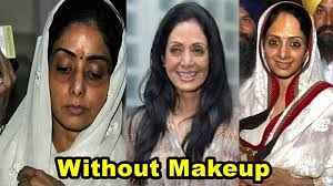 bollywood actress sridevi shocking without makeup look you won t believe