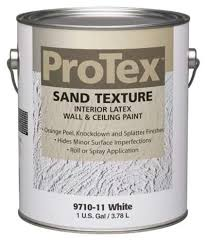 ceiling white paintProTex White Sand Texture Interior Latex Wall  Ceiling Paint  1