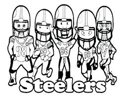 Nfl Football Coloring Pages To Print Football Coloring Pages Bay