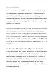 adoption essay persuasive adoption of children definition essay sample