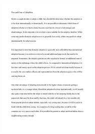 adoption essay persuasive adoption of children definition essay sample