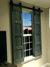 exterior window decor house shutters idea rustic wooden shutters barn window treatments exterior window decorative shutters exterior window