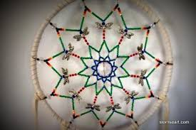 Dream Catcher With Crystals Crystal Dreamcatcher Stormie Art 83