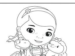 Doc Coloring Pages Doc Coloring Pages Free Printable Doc Mcstuffins