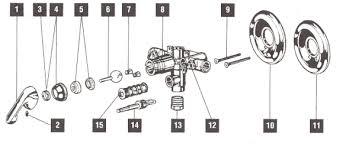 moen shower faucet repair single handle cartridge replacement azib us