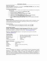 Sample Resume For It Company Refrence Sample Resume Format For Experienced Software Test Engineer 51