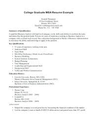 Mba Resume Template Mba Resumes Samples Resume For Students Freshers Example Good Resume ...