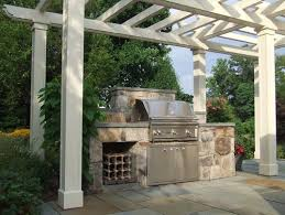 traditional patio by other metro appliances lynx professional grills