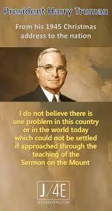 Harry S Truman Quotes Custom Harry Truman Quotes Unique Harry Truman Quotespeace Inspirational