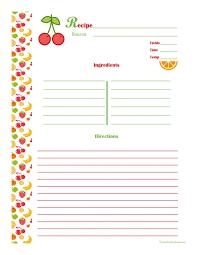Recipe Template Word Free Editable Recipe Card Templates For Microsoft Word