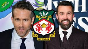 Logos relacionadas com wrexham afc. Hollywood Stars Ryan Reynolds And Rob Mcelhenney Complete Wrexham Takeover Mirror Online