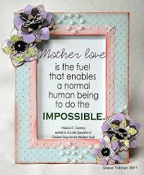 Paper Flower Quotes Altered Quote Frame Aenonloo