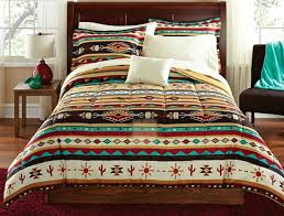 southwest style comforter set turquoise native american bedding