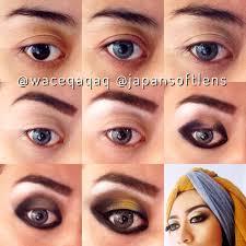 tutorial makeup mata dan giveaway 10 beauty gers feat an softlens make up natural untuk kulit sawo matang