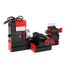 dc12v 3a 36w mini lathe milling machine drill wood engraving power tool didactical diy lathes woodworking metal chuck lathe
