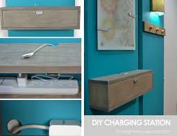 Introduction: Wall Mounted Charging Station Shelf