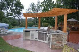 brown varnished oak kitchen table l shaped outdoor kitchen ideas light brown tile backsplash making roun