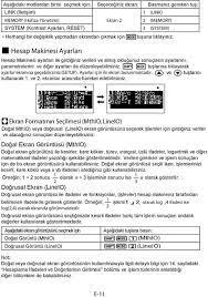 En Hızlı Casio Hesap Makinesi Ayarları Sıfırlama