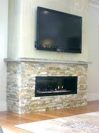 fireplace stones decorative for gas stone direct vent with veneer like the rock st