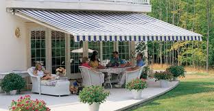 vintage retractable patio awning
