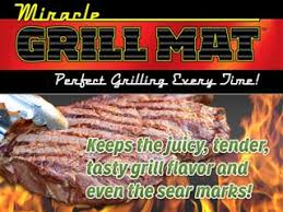 Miracle Grill Mat with 100% Non Stick Surface As Seen on TV