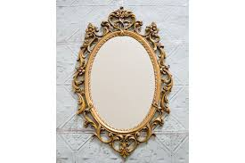 Antique mirror frame Creepy Large Rococo Mirror Vintage French Baroque Gold Mirror Oval Baroque Gold Frame Mirror Oval Ornate Gold Antique Mirror Classic Mirror Vinterior Dreamstimecom Large Rococo Mirror Vintage French Baroque Gold Mirror Oval
