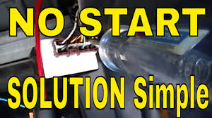 start test no start honda pgm fi main relay test youtube