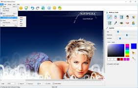 photo makeup editor the program enables you to export the edited photo to a wide