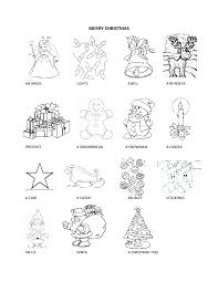 Christmas Vocabulary Worksheets Worksheets for all   Download and ...