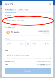 Simply open the wallet you intend sending from and click on. Sending Btc From Ledger Segwit To Coinbase Gemini Exchange Limit Sell