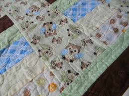 Craftopotamus: Flannel Owl Baby Quilt & I came up with the pattern on EQ7 - pretty simple, but I wanted to  highlight the owls, of course. I also skipped the batting because I find  that with fleece ... Adamdwight.com