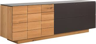 Sideboard In Holz Glas