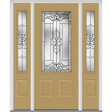 double front door with sidelights. 60 In. X 80 Cadence Left-Hand Inswing 3/4- Double Front Door With Sidelights