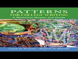 Patterns For College Writing Inspiration Patterns for College Writing A Rhetorical Reader and Guide YouTube
