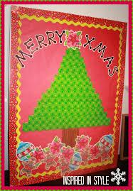 DIY Christmas Tree U0026 Presents Classroom Bulletin Board Idea Classroom Christmas Tree