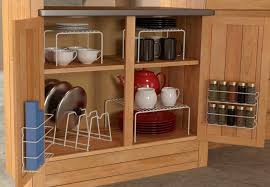 kitchen cabinet organizers wooden