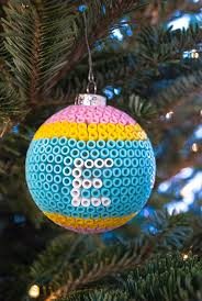 Decorating Christmas Ornaments Balls Decorate Glass Ball Christmas Ornaments with Perler Beads 57