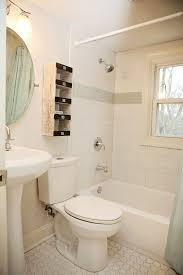 Bathroom Remodeling Columbus Awesome Tiny Fun 48's Bathroom Remodel White Brick Pattern With Penny