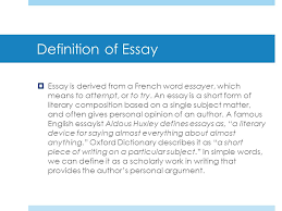 parallelism literary devices ppt definition of essay